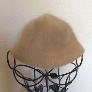 DNY Women's Angora Tan Hat